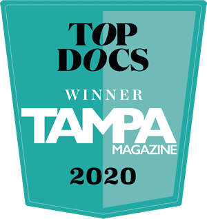 Top Docs Winner - Tampa Magazine - 2020