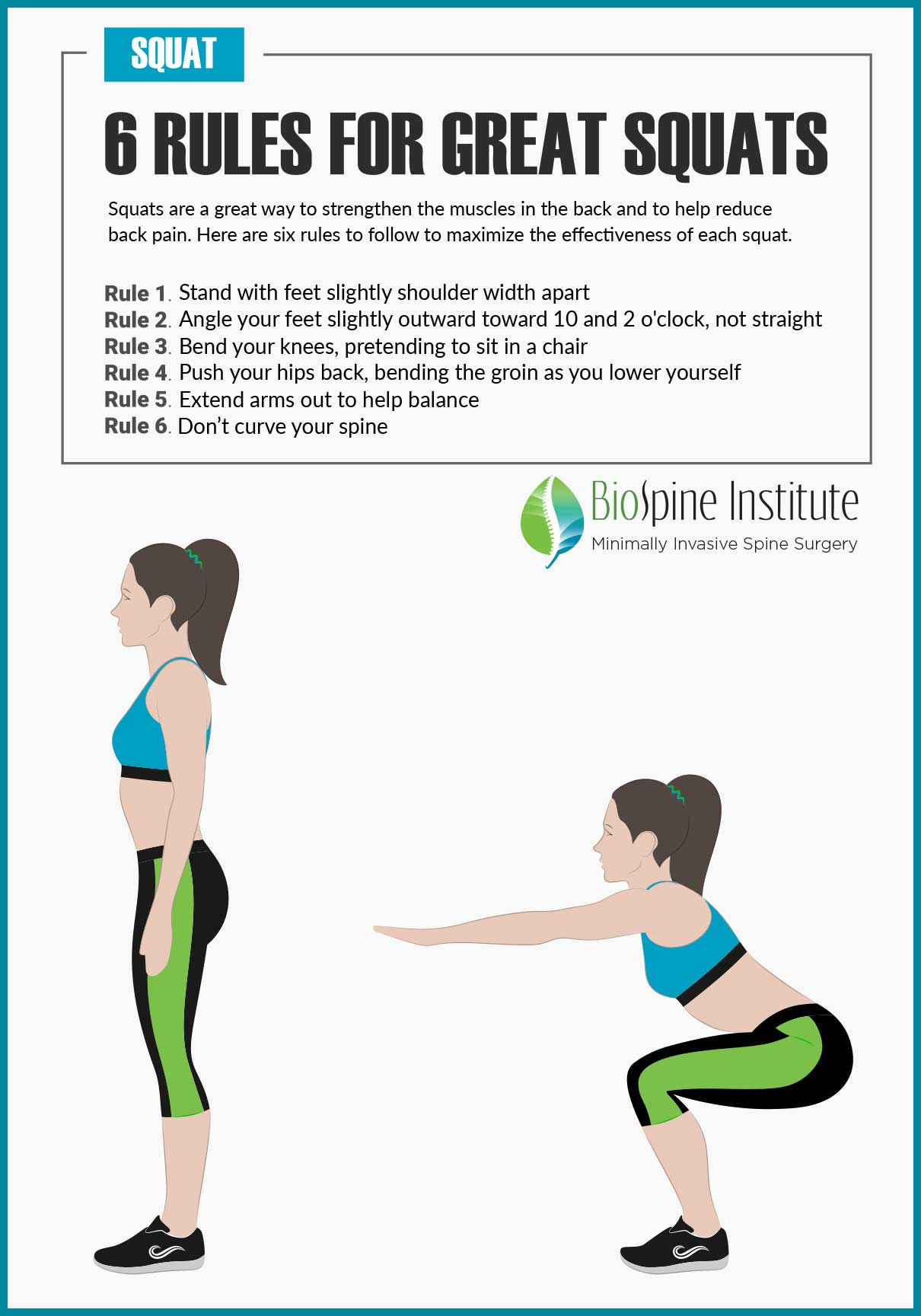 Relieve Back Pain with Two Types of Squats